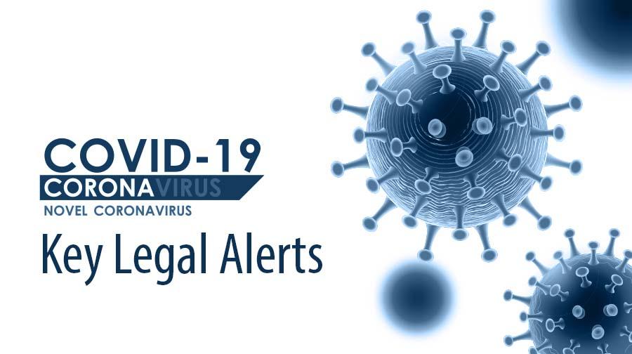 Covid-19 Legal Alerts
